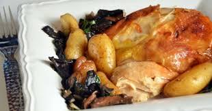 cuisine chapon roti chapon de noël rôti chignons et marrons recette par turbigo
