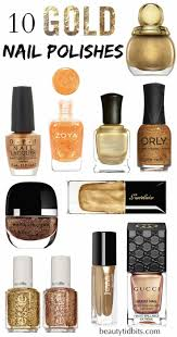 10 new gold nail polishes to try now