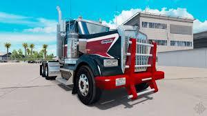 2016 kenworth w900 duty bumper for kenworth w900 for american truck simulator