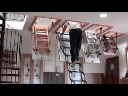 attic ladders drop down ladder for attic noir vilaine
