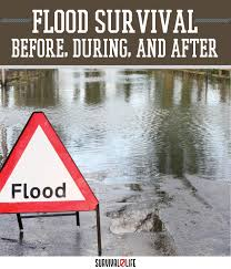 how to survive before during and after a flood survival life
