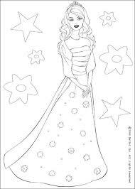 barbie princess coloring pages coloring