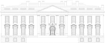 white house blueprint download free blueprint for 3d modeling