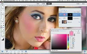 how to apply digital makeup in photo step 3
