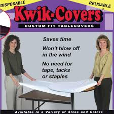 6ft Banquet Table by 6ft Banquet Table Kwik Cover Abc Rentals Midwest