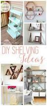 Diy Ladder Shelf Shelves Tutorials by Diy Shelves 18 Diy Shelving Ideas