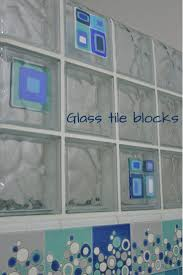 12 best glass tile blocks images on pinterest glass blocks