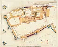 what is wh in floor plan sir w h st john hope windsor castle ground floor plan print