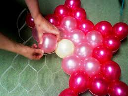 birthday balloons decoration ideas at home decorating of party