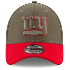 New York Giants Flag New York Giants 2017 On Field Salute To Service Stretch Fit Cap