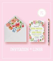 bridal luncheon invites printable or printed bridal luncheon invitations watercolor