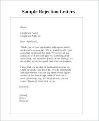 Rejection Letter Recruitment Agency rejection letter template invoice rejection letter rejection letter