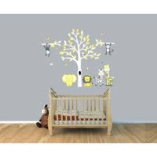 Safari Nursery Wall Decals Baby Room Jungle Wall Decals Safari Nursery Wall Decor Nursery