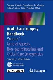 Bianchini E Capponi by Acute Care Surgery Handbook Vol 1 Pdf Download Available