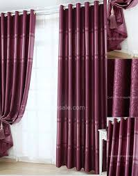 Thermal Curtains Patio Door by Purple Color Thermal And Blackout Sliding Door Curtains