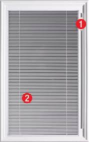 Patio Door Internal Blinds by Doors With Internal Blinds Therma Tru Doors