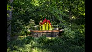botanic gardens add art exhibits by chihuly and others cnn travel
