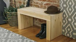 How To Make A Wooden End Table by How To Build A Stylish Wood Bench Danmade Watch Dan Faires Make