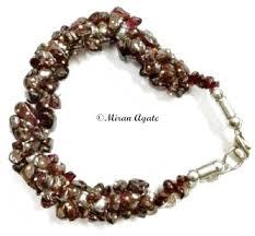 garnet gemstone bracelet images Garnet stone chips bracelet view specifications details of jpg