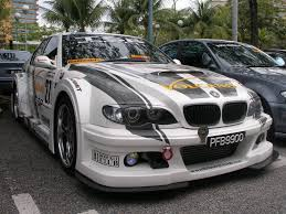 modified bmw licence to speed for malaysian automotive proton wira modified
