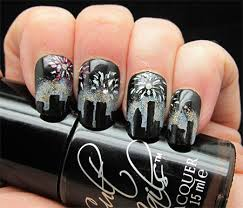Nail Art Designs For New Years Eve Happy New Year Nail Art Designs U0026 Ideas 2014 2015 Girlshue