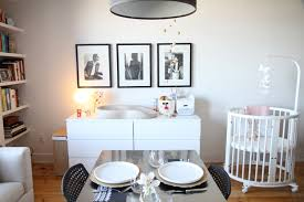 Toronto Couple Makes Room For Baby In  Square Feet - Furniture living room toronto
