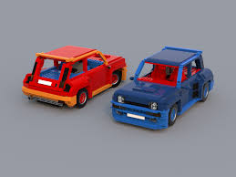 renault r5 turbo lego ideas renault 5 turbo rc