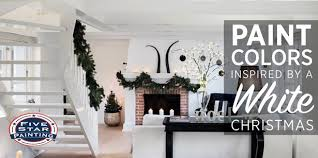 paint colors inspired by a white christmas
