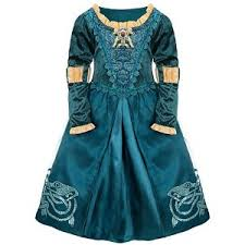disney store brave princess merida costume archives