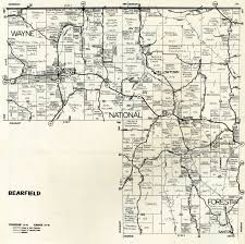 Madison Ohio Map by 1974 Perry County Ohio Plat Maps