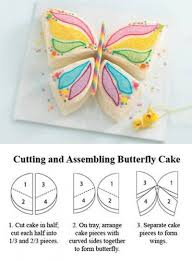 how to make a cake step by step how to make butterful shaped cake step by step diy tutorial