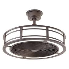 Outdoor Ceiling Fan And Light Home Decorators Collection Brette 23 In Led Indoor Outdoor