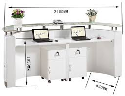 Salon Reception Desk White Office Small Hair Salon Modern White Half Salon Reception In