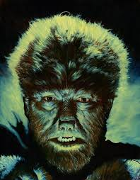 lon chaney jr as the wolfman in kevin u0027s gallery u0027s wolfman