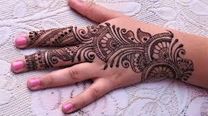 easy simple henna mehndi designs for tutorial for eid