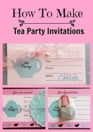 Invitation Programs How To Make Tea Party Invitations Photoshop Elements Tea Party