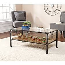 Fish Tank Living Room Table - amazon com midwest tropical 675 24 u0026quot wide aqua coffee table