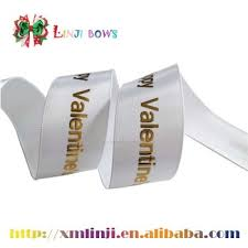 gold foil printed ribbon custom printed satin ribbon buy custom