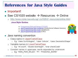 online html class cs1020 data structures and algorithms i lecture note 1 ppt