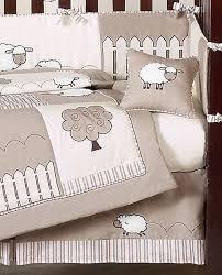 little lamb baby bedding 9pc crib set by sweet jojo designs only