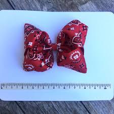 bandana bow hair bow bandana cutie bowtutie