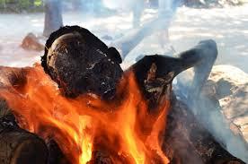 human cremation of human
