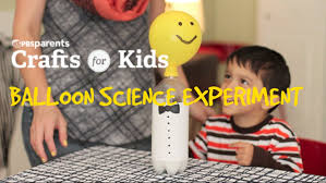balloon science experiment crafts for kids pbs parents youtube