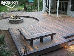 Backyard Deck Pictures by Best 10 Deck Fire Pit Ideas On Pinterest Patio Stores Near Me