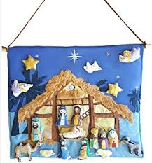 Nativity Outdoor Decorations Amazon Com Super Deluxe Nativity Scene Large Outdoor Metal