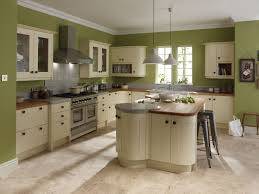 green and kitchen ideas broken white wooden kitchen cabinet with brown wooden counter top