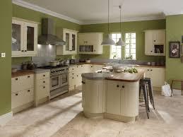 green kitchen design ideas broken white wooden kitchen cabinet with brown wooden counter top