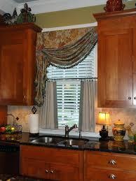 Fancy Window Curtains Ideas Kitchen Windows Curtains Fancy Window Treatments For Kitchen And
