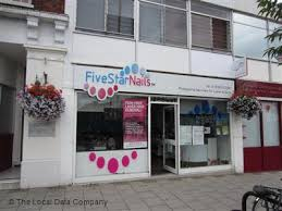 five star nails on high street nail salons in town centre