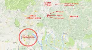 Map Of China And India by China And India Square Up Over Himalayan Dirt Road The Week Uk